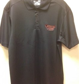 UA UA Performance Polo Academic Logo Black