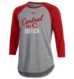 UA UA Baseball Tee Red/Gray