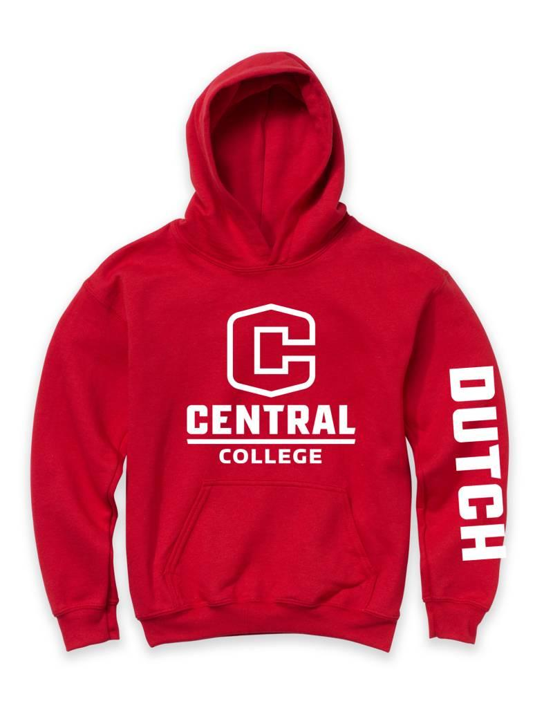 MVSPT MV Sport Youth hoodie with C red