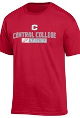 CHAMP Champion Track and Field Tee Red