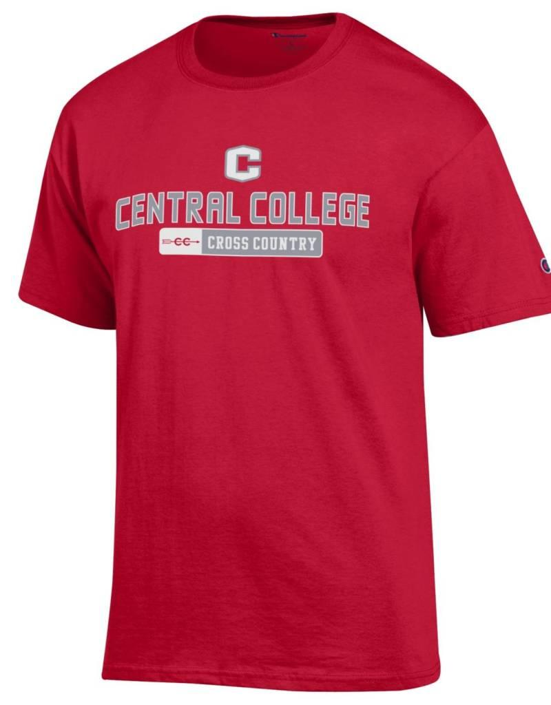 CHAMP Champion Cross Country Tee Red