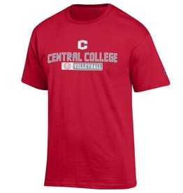 CHAMP Champion Volleyball Tee Red