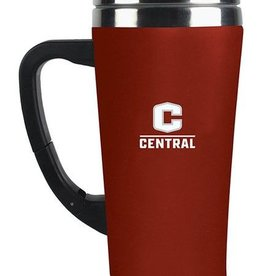 Fanatic Red Coffee Tumbler w/handle