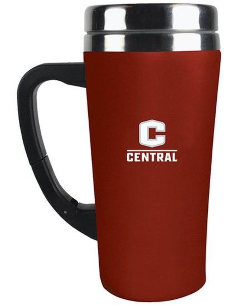 Fanatic Red Coffee Tumbler w/handle
