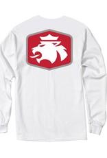 MVSPT MV Sport Lion Flock LS Tee White