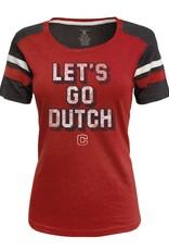 JAMER JAmerica Let's Go Dutch Striped Sleeve
