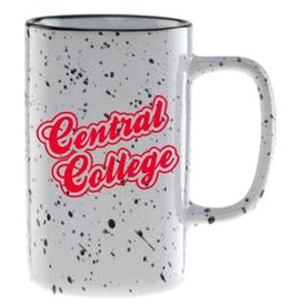 NEIL Nordic White Tall Camper Mug Speckled