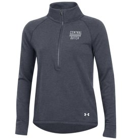 UA UA Womens Threadborne 1/4 Zip Charcoal