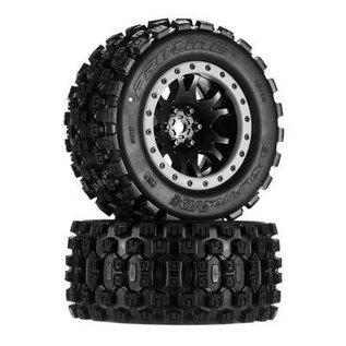 Proline Badlands MX43 Pro-Loc Mnt Impulse Blk,Grey(2):XMX