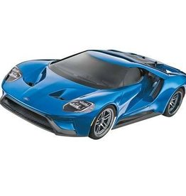 TRA Liquid Blue Ford GT 1/10 Scale AWD Supercar RTR