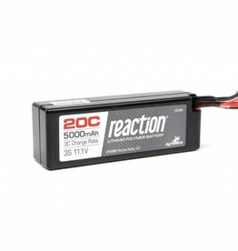DYN Reaction 11.1V 5000mAh 3S 20C LiPo Hard Case: EC3