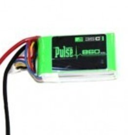 Pulse PULSE 860mah 3S 11.1V 35C - FPV Racing series - LiPo Battery