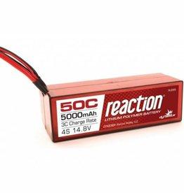 DYN Reaction 14.8V 5000mAh 4S 50C LiPo, Hardcase: TRA