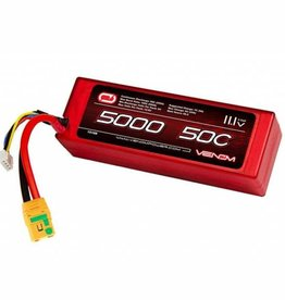 VNR 15188 LiPo 3S 11.1V 5000mAh 50C XT90-S Nero