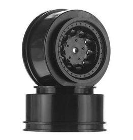 RPM Revolver Wheels, Black: Slash 2WD(Rear),Slash 4x4