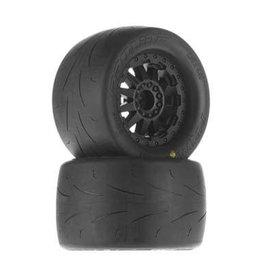 "Proline Prime 2.8"" A/T Tires Mounted F-11 Wheels Black"