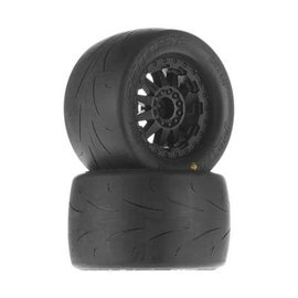 "Proline Prime 2.8"" A/T Tires Mounted F-11 Wheels Black"