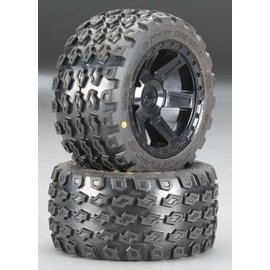 "Proline Dirt Hawg 2.8"" A/T Tires Mounted Desperado Rear Wheels"