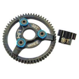 HRA STE258 Brushless Steel Gear Kit 32P 18/58T .8m 3.22