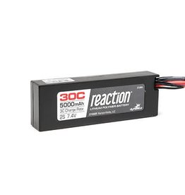 DYN Reaction 7.4V 5000mAh 2S 30C LiPo Hard Case: TRA