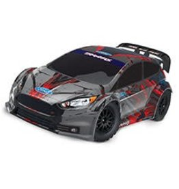 Traxxas 74054-4 - Ford Fiesta® ST Rally: 1/10 Scale Electric Rally Racer with TQ 2.4GHz radio system