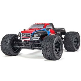 Arrma AR102663 1/10 Granite Voltage 2WD Mega RTR Red/Black