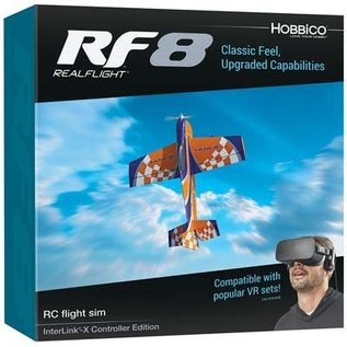 RealFlight RF-8 Interlink-X Mode 2