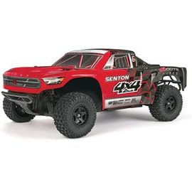 Arrma AR102667 1/10 Senton Mega Short Course Truck RTR Rd/Blk