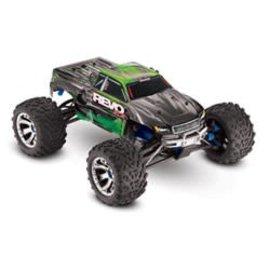 TRA Revo 3.3 4WD 1/10 Nitro Truck  RTR w/ TSM; Green