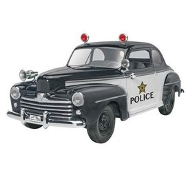 Revell 1/25 '48 Ford Police Coupe 2n1