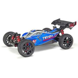 AR106028 1/8 Typhon 6S BLX 1/8 4WD Buggy RTR Blue/Slvr