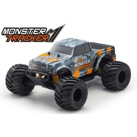 Kyosho Monster Tracker EP 2WD Monster Truck-Orange