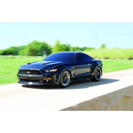 Traxxas 83044-4_BLK Ford Mustang GT: 1/10 Scale AWD Supercar with TQ 2.4GHz radio system