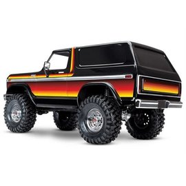 Traxxas Bronco TRX-4 Red -Sun