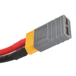 Common Sense RC Gray Adapter for XT60 batteries to Traxxas® vehicles single