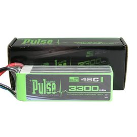 PULSE 3300mAh 6S 22.2V 45C - LiPo Battery