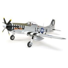 EFL P-51D Mustang 1.2m BNF Basic w/AS3X and SS