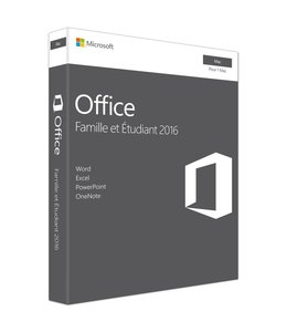 Microsoft Microsoft Office 2016 Home and Student for Mac