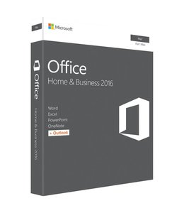 Microsoft Microsoft Office 2016 Home and Business pour Mac