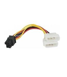 2 x Sata a 6 pin PCIE