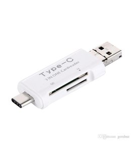3 In One USB 3.1 Type-C Cardreader
