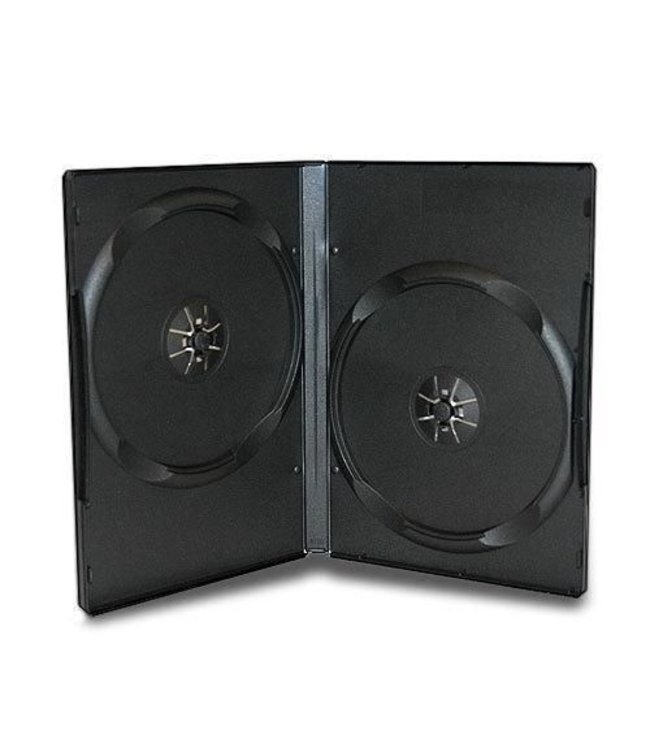 Case CD/DVD Double 5PK