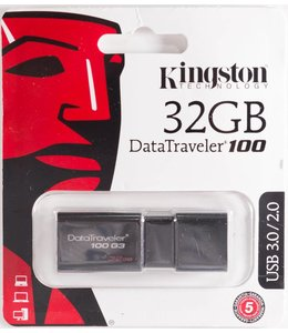 Cle USB 32Go Kingston DataTraveler 100 USB 2/3/3.1