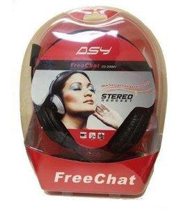 Ecouteur avec Micro ASY Free Chat CD-209MV Prises 3,5 mm