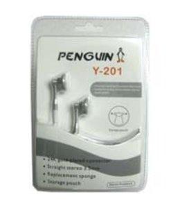 Écouteur Penguin Y201 Argent