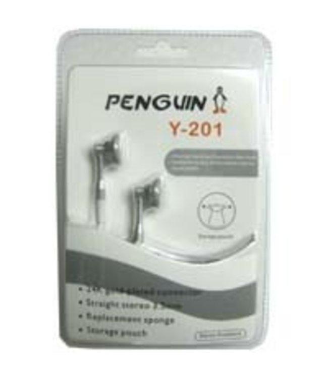 Ecouteur Penguin Y201 Argent