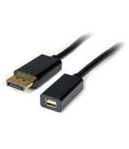 Adaptateur 6 Pouce Startech DisplayPort (M) a Mini DisplayPort (F)