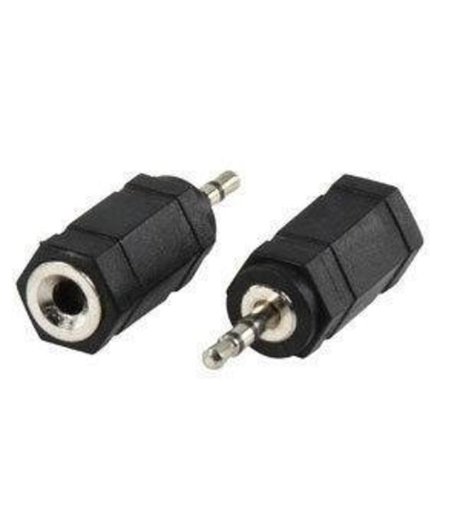 Adaptateur audio 2.5mm /M a 3.5mm /F
