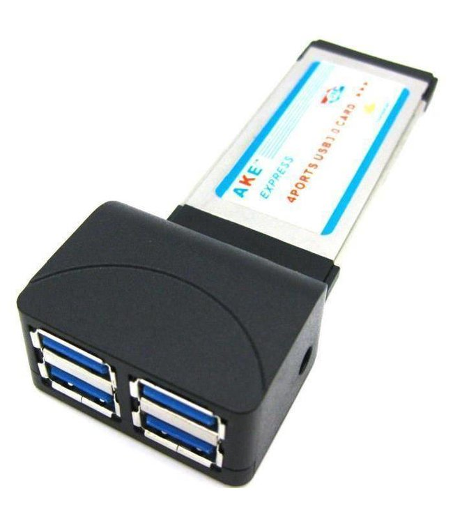 Adaptateur ExpressCard 34mm serie (4 x USB)