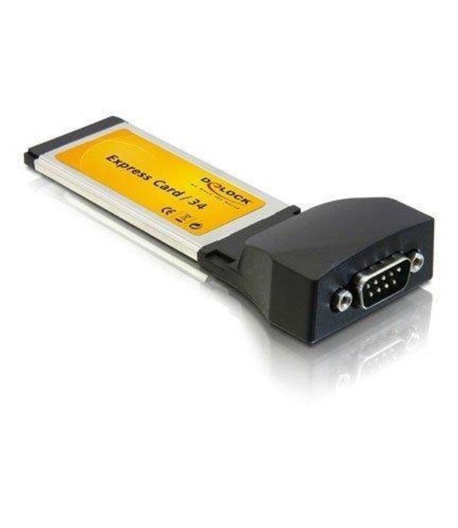 Adaptateur ExpressCard 34mm série (RS-232)